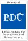 Member of BDÜ